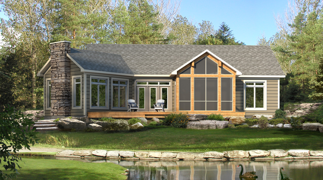 Beaver homes and cottages stillwater for Virginia house plans